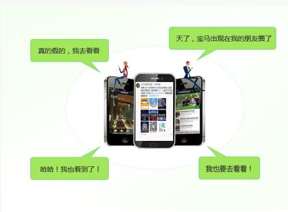 微信朋友圈推广1次(每日3次)
