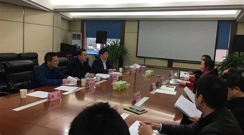 巴中市政府副市长赵建仁带队赴四川省知识产权服务促进中心汇报工